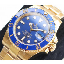 Rolex Submariner Swiss Replica Watch 116618LB-0003 Blue Dial 40mm (High End)