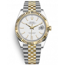 Replica Rolex Datejust II Swiss Watches 126233-0016 White Dial 41mm(High End)