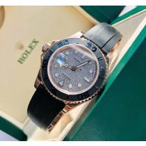 Rolex Yacht-Master Swiss Replica Watch Diamonds-Paved Dial 40mm (Super Model)