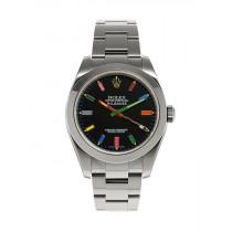 Swiss Rolex Oyster Perpetual Milgauss Happy Socks Automatic Replica Watch