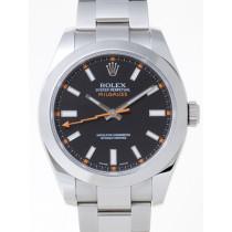 Swiss Rolex Milgauss 116400 Black Dial Men Automatic Replica Watch
