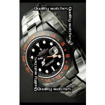Swiss Rolex Explorer II Orange GMT Sticker White Dot time markers Automatic Replica Watch (High End)