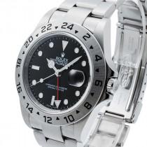 Swiss Rolex Explorer II 16570-78790 Black Dial Men Automatic Replica Watch (Super Model)
