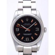 Rolex Milgauss Replica Watches Anniversary Edition Black Dial RX41174