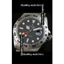 Rolex Explorer II 216570-77210 Black Dial Super Luminous Men Automatic Replica Watch