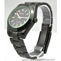 Rolex Milgauss Replica Watches Black PVD Watch 116400GV