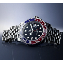 Rolex GMT-Master II Swiss Replica Watch 126710blro-0001 Black Dial 40mm (Super Model)