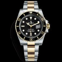Rolex Submariner Swiss Replica Watch 116613LN-0001 Gold(Super Model)