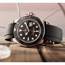 Rolex Yacht-Master Swiss Replica Watch 126655-0002 Black Dial 40mm (Super Model)