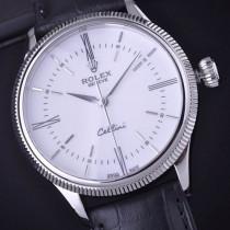 Rolex Cellini Time Automatic Replica Watch White Dial 39mm