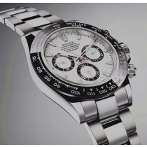 Rolex Daytona Swiss Replica Watch 116500LN-0001 White Dial 40mm (Super Model)