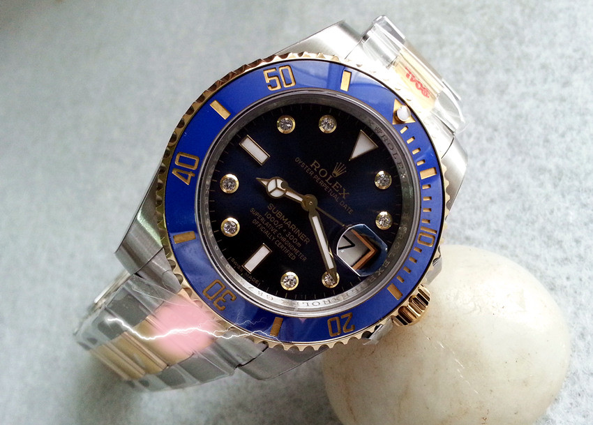 Replica Rolex Submariner Watches Swiss Automatic 116613LB-0005 Dial 40mm (High End)