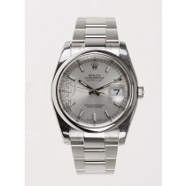 Swiss Rolex Oyster Perpetual 116200-72200 Silver dial Automatic Replica Watch