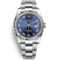 Rolex Datejust Swiss Automatic Watch 116234-0133 Blue Dial 36mm (High End)
