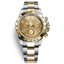 Rolex Oyster Perpetual 116523-78593 Yellow dial Men Automatic Replica Watch