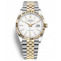 Replica Rolex Datejust Swiss Watches 126233-0019 White Dial 36mm(High End)