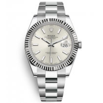 Rolex Datejust Mens 116334 White dial Bar-type time markers Automatic Replica Watch