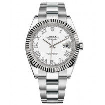 Replica Rolex Datejust II Swiss Watches 126334-0023 White Dial 41mm(High End)