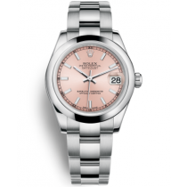 Replica Rolex Datejust Swiss Automatic 178240 Pink Dial 31mm (High End)