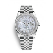 Replica Rolex Datejust Swiss Automatic 116244-0011 MOP Dial 36mm (High End)