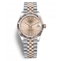 Replica Rolex Lady-Datejust Swiss Watches 278271-0010 Rose Colour Dial 31mm(High End)