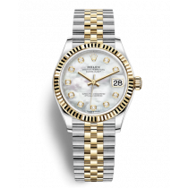 Replica Rolex Datejust Ladies Swiss Watches 278273-0028 MOP Dial 31mm(High End)
