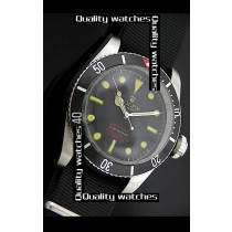 Rolex Submariner Domed Crystal Black dial Automatic Replica Watch
