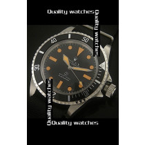 Rolex Submariner Black dial Orange time markers Automatic Replica Watch