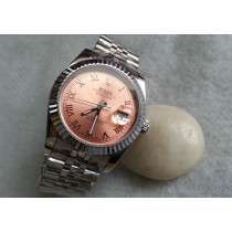 Rolex Datejust Replica Watches Jubilee SS Bronze Dial Roman Numeral Hour markers