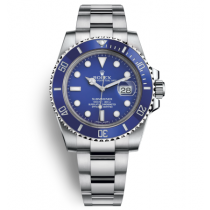 Replica Rolex Submariner Automatic Watch 116619LB-0001 Blue Dial 40mm
