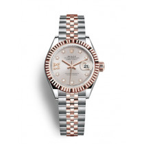 Replica Rolex Datejust Ladies Swiss Watches 279171-0019 Gold Dial 36mm(High End)