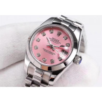Replica Rolex Lady-Datejust Swiss Watches 279166-0005 Pink Dial 28mm(High End)