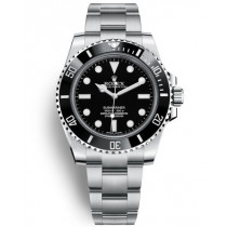 Replica Rolex Submariner Time Swiss Watches 114060-0002 Black Dial 40mm(High End)