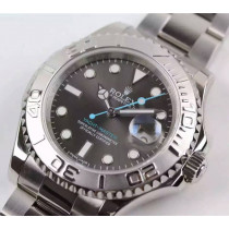Rolex Yacht-Master 2016 Basel Automatic Watch 116622 Gray Dial Blue Hands (Super Model)