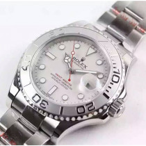 Rolex Yacht-Master Swiss Automatic Watch Silver Dial (High End)