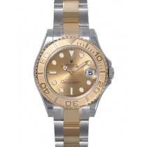 Rolex Oyster Perpetual 168623-78753 Gold dial Automatic Replica Watch