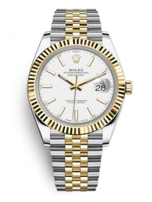 Replica Rolex Datejust II Swiss Watches 126333-0016 White Dial 41mm(High End)